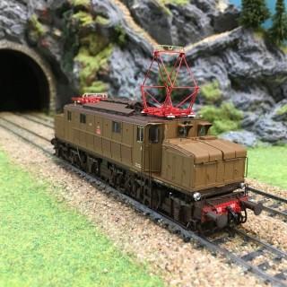 "Locomotive FS E626.089 ""Savigliano"" ep Va -HO-1/87-LEMODELS 20510"