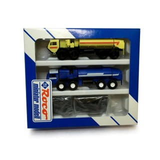 Coffret de 2 camions citerne-HO-1/87-ROCO 1684 DEP17-455