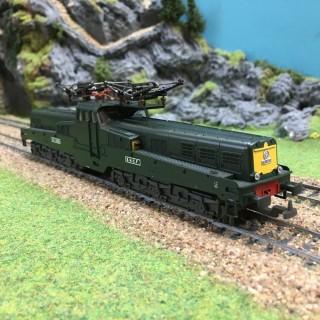 Locomotive électrique CC14129 Sncf-HO-1/87-LIMA 20 8170LP DEP67-040