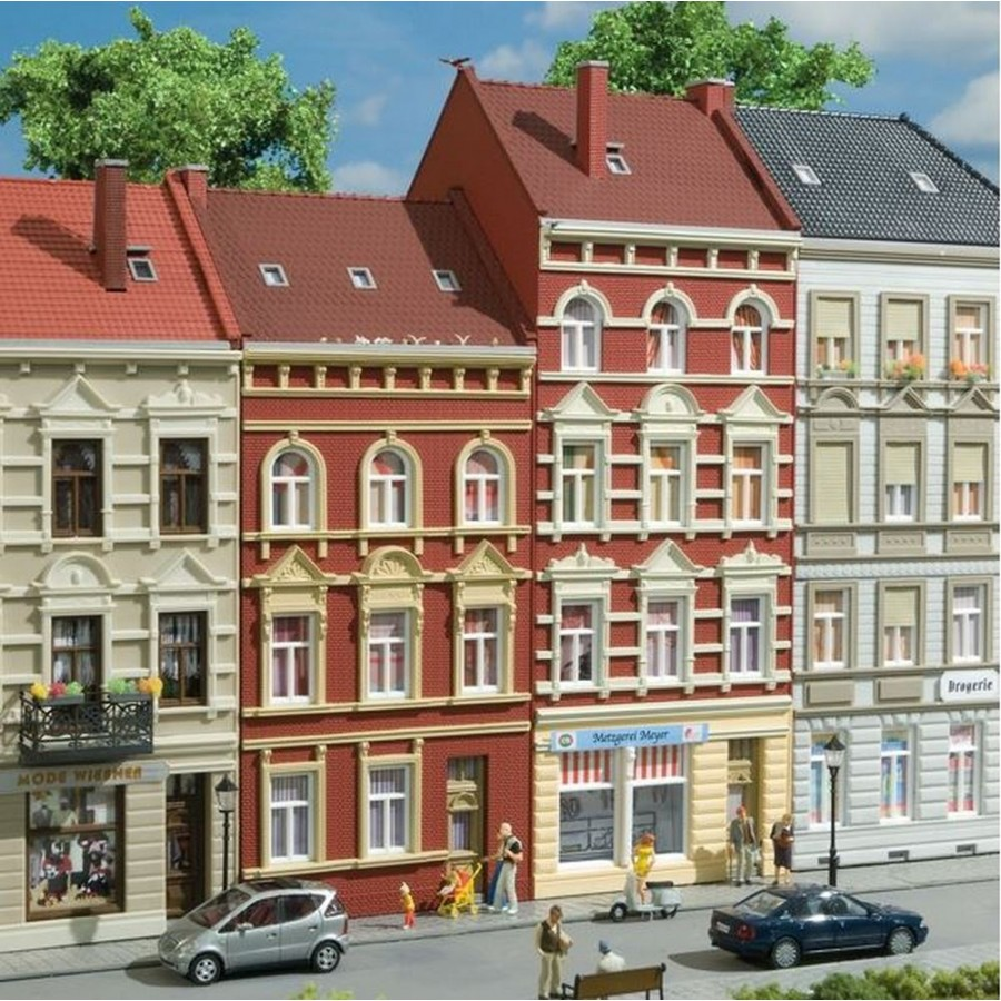 Grandes maisons de ville-HO 1/87-AUHAGEN 11417