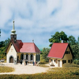Eglise de village et son presbytère-N 1/160-AUHAGEN 14461