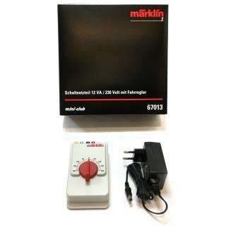 Transformateur variateur et sortie accessoires-Z 1/220-MARKLIN 67013