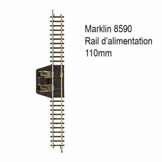 Rail d'alimentation 110mm -Z 1/220-MARKLIN 8590