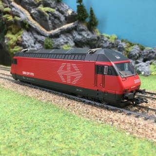 Locomotive 460 SBB-HO-1/87-MARKLIN 8360 DEP73-010