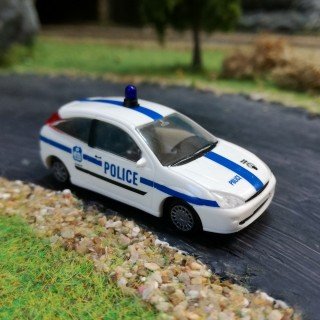 Ford Focus police-HO-1/87-RIETZE 50961