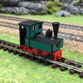 Locomotive Decauville type 3-HOe-1/87-BUSCH 12141