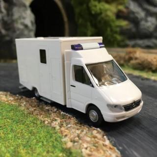 MERCEDES Sprinter ambulance-HO-1/87-RIETZE 61761