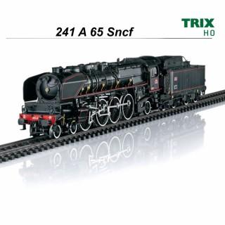 Locomotive 241 A 65 Sncf digitale sonorisée -HO-1/87-TRIX 22941