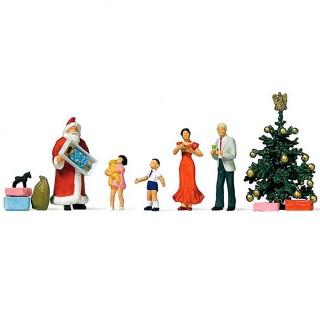 Scène de Noël-HO-1/87-PREISER 10652