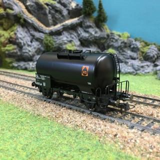 "Wagon citerne ""HS"" SNCF-HO-1/87-ROCO 47074 DEP88-003"