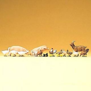Assortiment d'animaux de ferme-N-1/160-PREISER 79093