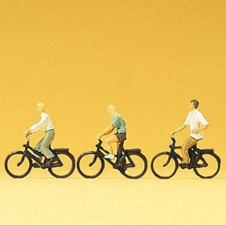 3 cyclistes -N-1/160-PREISER 79089