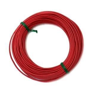 Câble rouge souple cuivre 10ml 0.14mm² HERKAT 3611