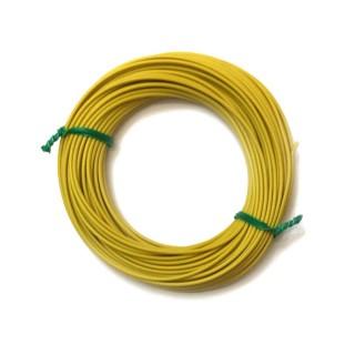 Câble jaune souple cuivre 10ml 0.14mm² HERKAT 3614