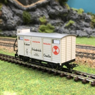 """Wagon """"KFQ"""" DB-HOe (HOn)-1/87-EGGER-BAHN V24 DEP76-187"""