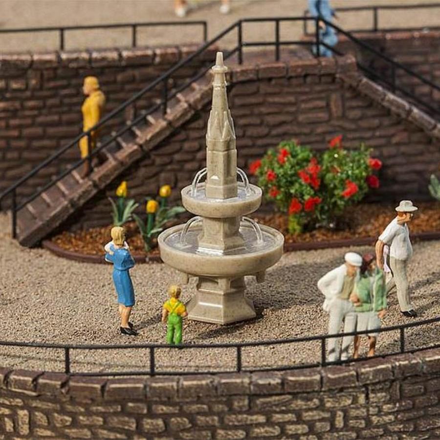 Fontaine de village-HO-1/87-FALLER 180944