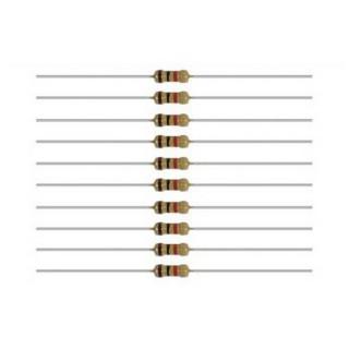 10 résistances 1/4 watt 1000 ohm -Toutes échelles-PECO PL-29