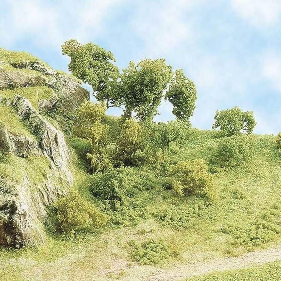 "Flocage herbe ""vert clair"" 20g-Toutes échelles-BUSCH 7111"