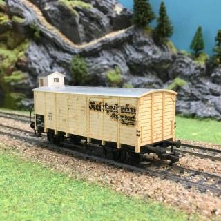 Wagon vigie 114 339 DB-HO-1/87-FLEISCHMANN DEP40-110