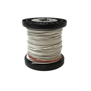 Câble blanc souple cuivre 50ml 0.14mm² HERKAT 3666