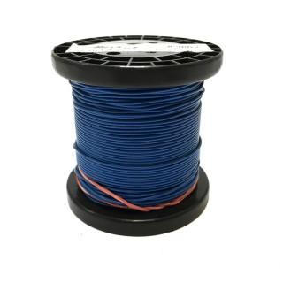 Câble bleu souple cuivre 50ml 0.14mm² HERKAT 3663