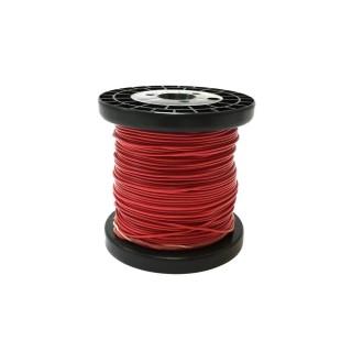 Câble rouge souple cuivre 50ml 0.14mm² HERKAT 3661
