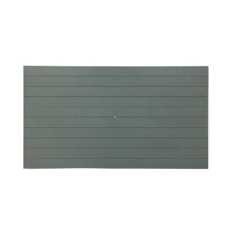 Plaque plastique toit type tôle ondulée HO-1//87-VOLLMER 46027
