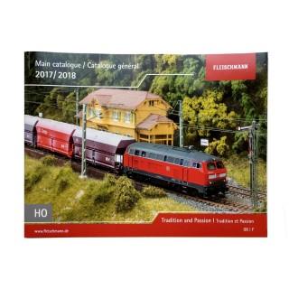 Catalogue Général FLEISCHMANN HO 2017-18 VF 92 pages - FLEISCHMANN 990417