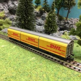 Wagon de transport DHL DB-N-1/160 -ELECTROTREN 7716 K DEP42-022