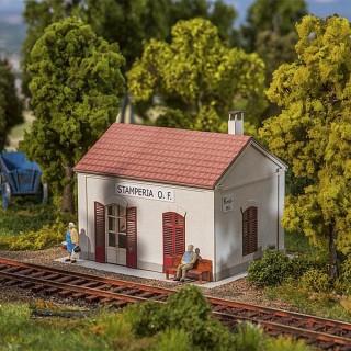 "Petite gare ""Halte""-HO-1/87-FALLER 110201"
