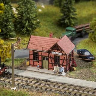 "Petite gare ""Halte""-N 1/160-FALLER 212150"