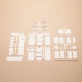 Set de vitrages pour fenêtres- HO-1/87-AUHAGEN 48251