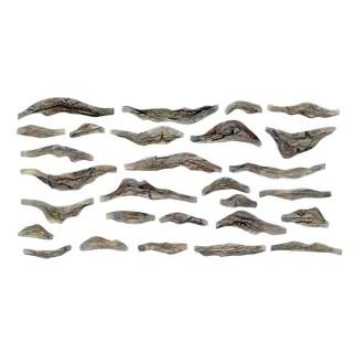 2 Moules flexibles pour roches de ruisseau-HO et N-WOODLAND SCENICS C1245