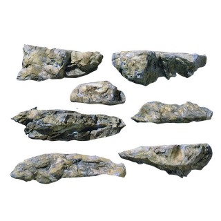 Moule flexible pour roche de remblais-HO et N-WOODLAND SCENICS C1233
