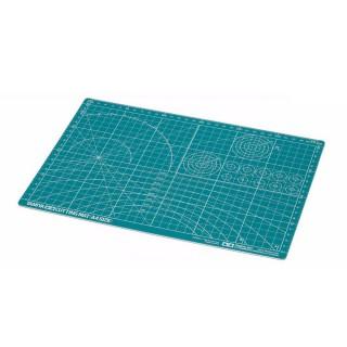 Plaque de découpe format A4 verte-Toutes échelles-TAMIYA 74118