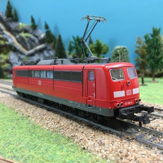 Locomotive BR 151 DB digitale ép VI -HO-1/87-ROCO 51293A