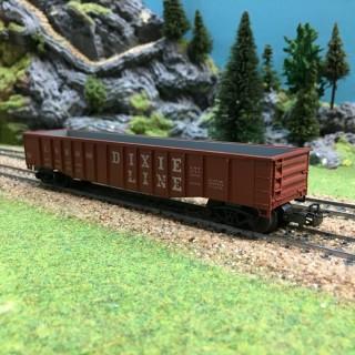 Wagon tombereau Dixie Line USA-HO-1/87 MARKLIN 4575 OC1