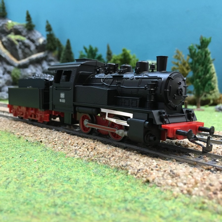Locomotive BR98 003 0-4-0 avec tender DB-HO-1/87-PIKO 50501