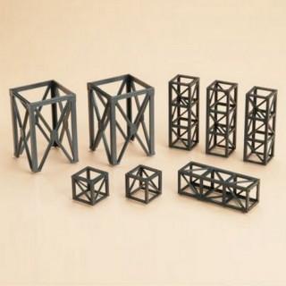 Eléments de structures en acier-HO 1/87-AUHAGEN 48576
