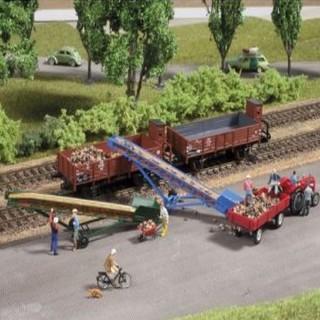 2 Bandes transporteuses-HO 1/87-AUHAGEN 41630