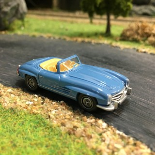 Mercedes 300 SL Roadster-HO-1/87-WIKING 083407