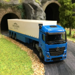 Semi-remorque Mercedes Actros 2 St Gobain-HO-1/87-AWM 8598.01