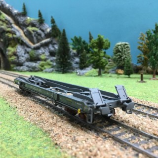 Wagon KB Sss type kangourou Novatrans ép IV Sncf -HO-1/87-LSMODELS 30135