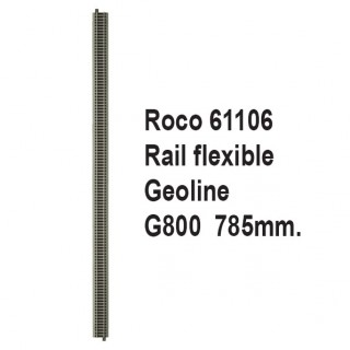 Rail Geoline G800 flexible 785mm-HO-1/87-ROCO 61106