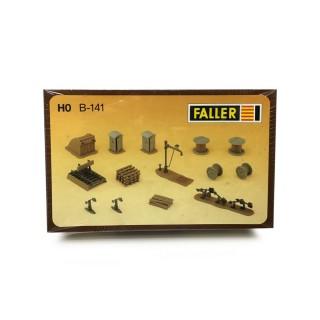 Accessoires de voie-HO-1/87-FALLER B-141 DEP17-524