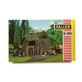 Vieille remise à bois-HO-1/87-FALLER B-2894 DEP67-023