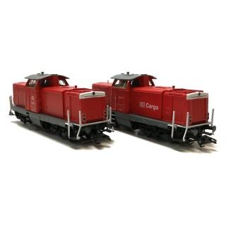 Locomotives BR213 + BR212 3 rails Digitale-HO 1/87-MARKLIN 37726 DEP17-652