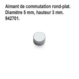 Aimant de commutation rond-plat-N 1/160-FLEISCHMANN 942701