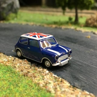 "Mini Austin 7 ""Union Jack""-HO-1/87-WIKING 022604"
