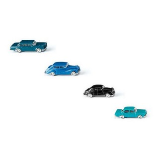"4 voitures ""classiques"" N-1/160-WIKING 091404"